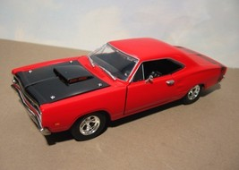 ~ 1969 Dodge Super Bee  Six Pack - 1:24 Diecast  red - $17.95