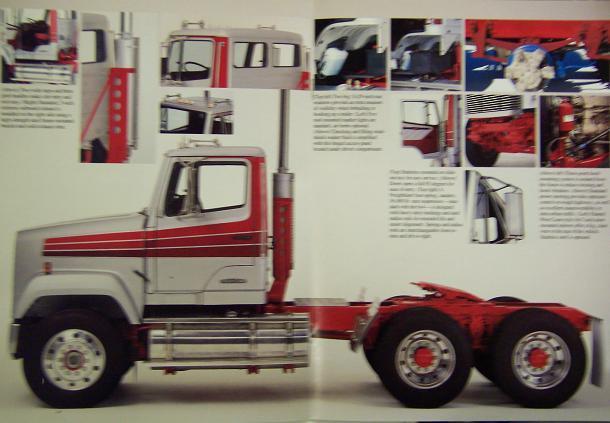 1985 Freightliner FLD112 Medium Duty Road Tractors Brochure