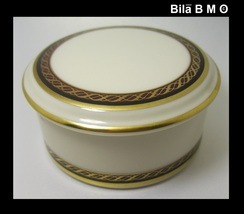 Vintage LENOX MONROE Round BOX with Lid - $39.50