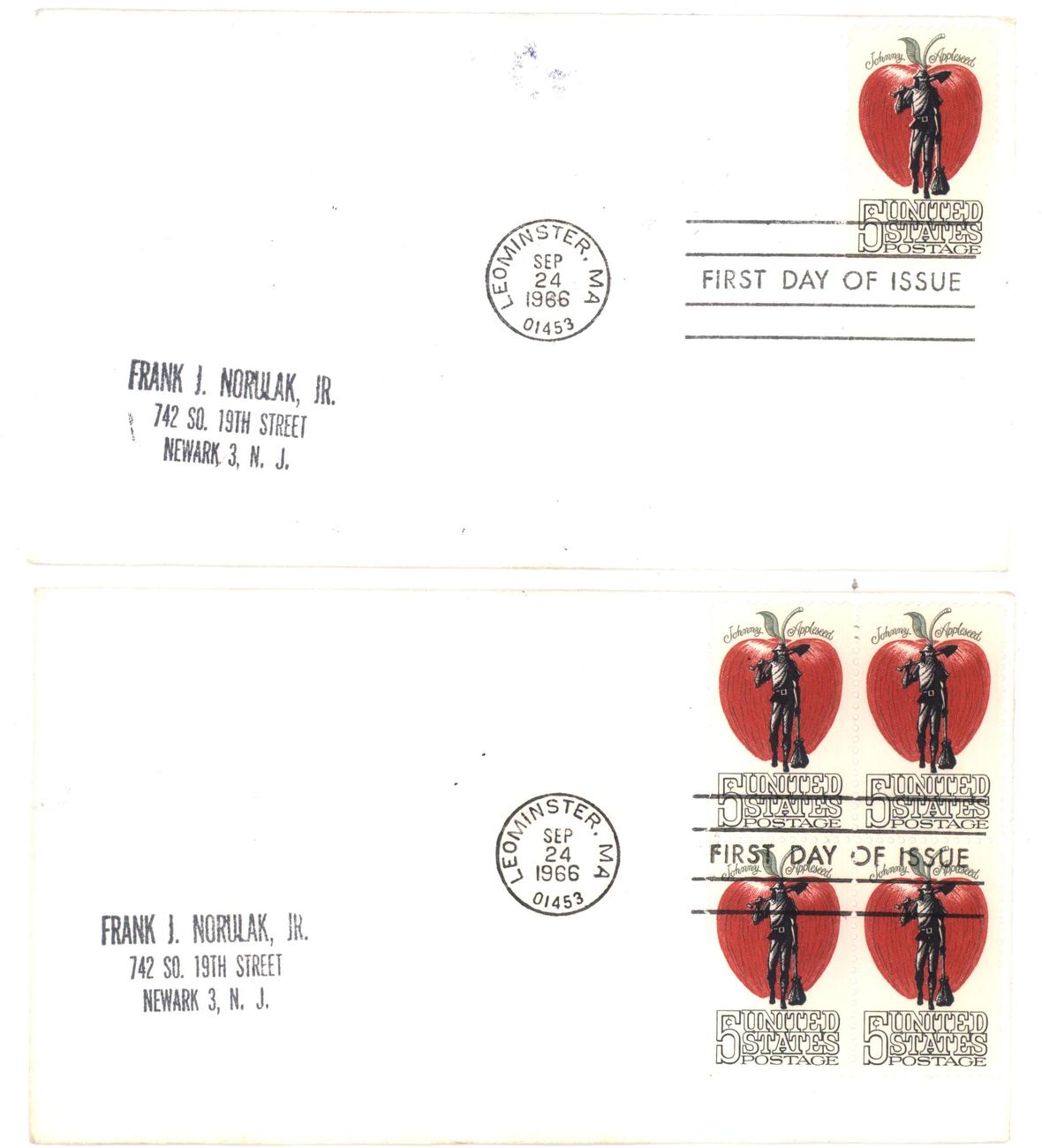 Johnny appleseed fdc