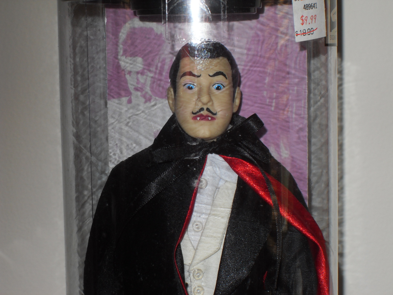 1998 Universal Studios Monsters Son Of Dracula In The Package