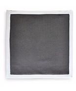 Frederick Thomas PUNTO pañuelo cuadrado de bolsillo en gris oscuro ft3178 - $21.83