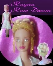 Beaded Hair Fashion Doll Rayna OOAK Refashioned Barbie - $59.99