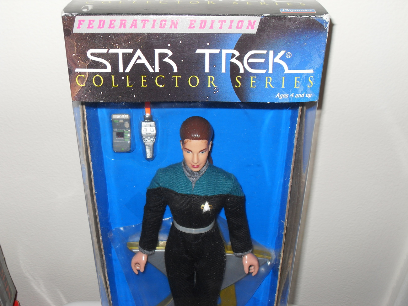 1997 Star Trek Jadzia Dax In Box    Collector series Edition