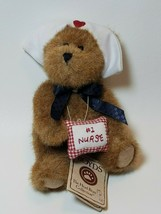 """Boyds Bears Head Bean Collection #1 Nurse """"Patience"""" Jointed Plush 5.5 inch - $12.82"""