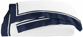 Ralph Lauren King Size  Duvet Cover Bowery Polo Navy Pima Cotton MSRP $470 - $138.59