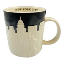 Starbucks New York City Skyline Taxi Collector's Series Mug Black White ... - $24.74
