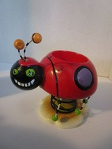 Lady Bug Decor Tealight / Votive Candle Holder Adorable Free Shipping - $10.59
