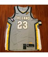 """Lebron James Cleveland """"The Land"""" Jersey L AUTHENTIC AEROSWIFT AH6048-007 - $49.99"""