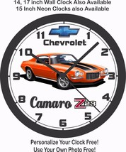 1970 CHEVROLET CAMARO Z/28 WALL CLOCK-FREE USA SHIP & OTHER COLORS AVAIL... - $28.70+