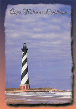 Beautiful Cape Hatteras Lighthouse Outer Banks North Carolina Unused Pos... - $14.50