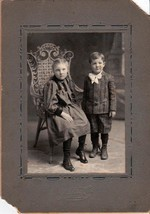 Everett Calhoon & Veda Calhoon Gregory Cabinet Photo - Norton, Kansas - $17.50