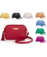 JOY & IMAN Fashionably Functional RFID Leather Bag - $39.99