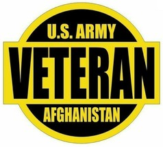 Us Army Afghanistan Veteran Sticker - $9.89