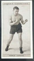 1928 Ogden's Pugilists in Action #21 ERNIE JARVIS  Boxing Card  (A) - $4.90