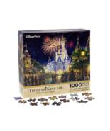 "Disney World Thomas Kinkade Main Street U.S.A. Fireworks 27""x20"" 1000 Pc... - $39.90"