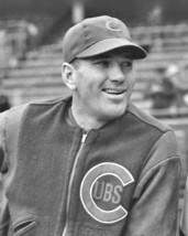 Dizzy Dean Chicago Cubs 8x10 probably 1938 GEORGE BRACE Wrigley - $4.99