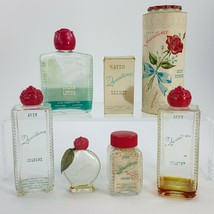 Vintage Avon 1950's Quaintance Body Powder Diary Perfume Cologne Lotion ... - $24.18