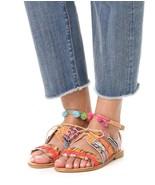 NEW $275 ELINA LINARDAKI Hula Hoop Sandal sz 40 / 10 - $90.08