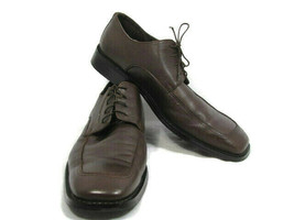 Kenneth Cole Unlisted Men's Dress Shoes Brown Leather Oxford Lace Up Siz... - $39.59