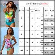Women Strappy Tankini Swimsuit Swimwear Ladies Bikini Beachwear Swimming Costume image 2