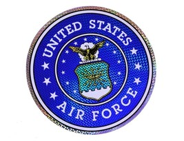 "Wholesale Lot 12 U.S. Air Force USAF 12"" Reflective Decal Bumper Sticker - $22.88"