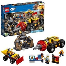 LEGO City Mining Heavy Driller 60186 Building Kit 294 Piece - $56.78