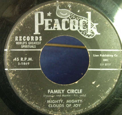 Mighty Mighty Clouds of Joy - Family Circle - Peacock Records 1869