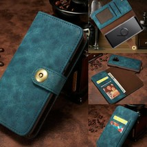 Leather Wallet Magnetic flip cover for Samsung Note 10 Plus S10 S9 S8 S7 - $60.00