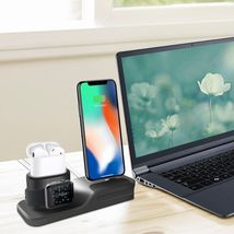 Apple Charging Dock 3 In 1 Docking Station Iphone X 5 6 8 7 Plus Watch Series 3 image 6