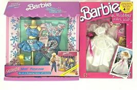 Lot of 2 Vintage (1989 & 1991) Mattel Barbie Fashions #3109 #3788 - See ... - $44.99