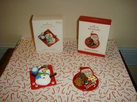 Hallmark 2012 & 2013 Season's Treatings Series 4th & 5th Ornaments - $23.99