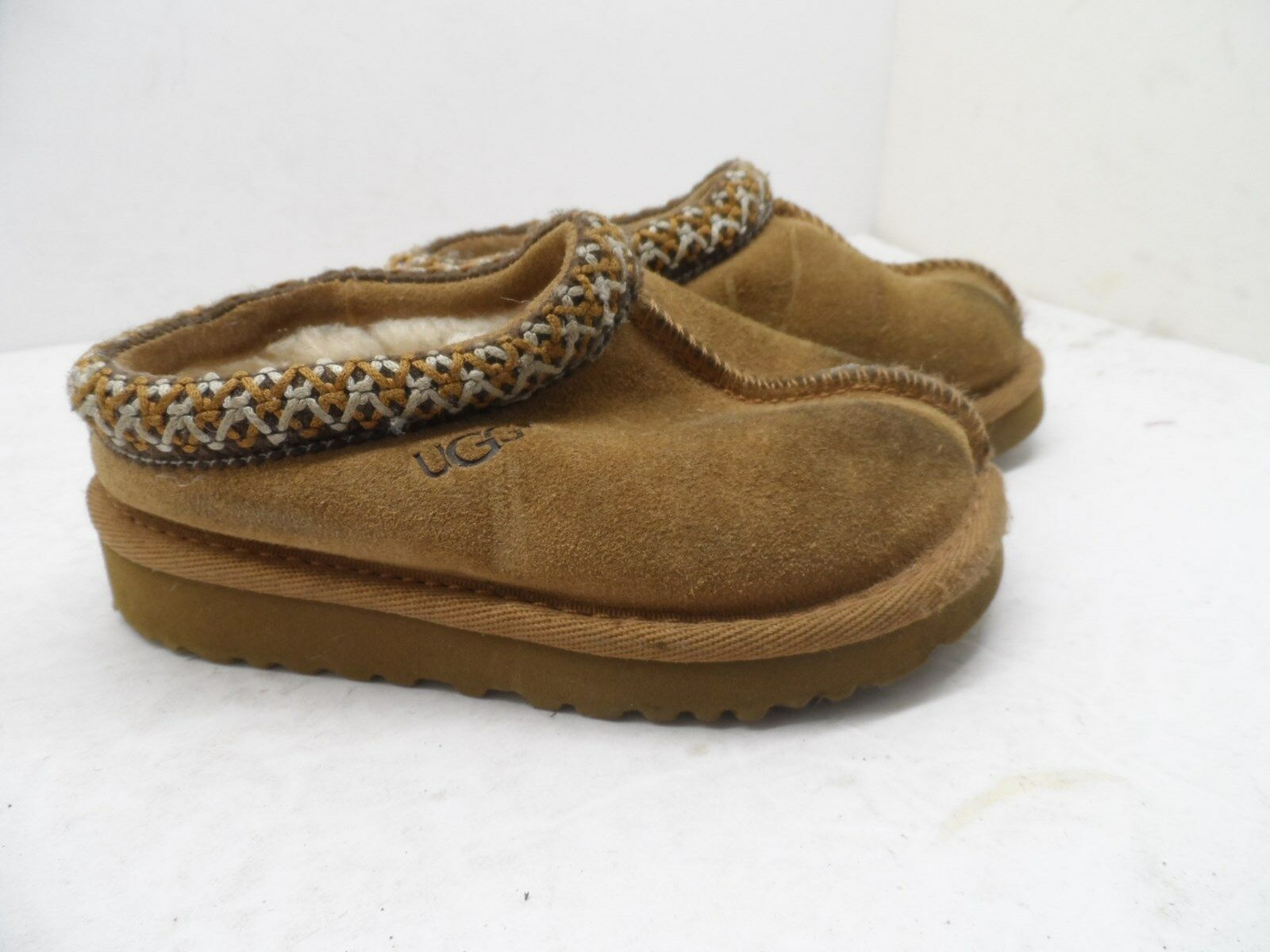 Primary image for UGG Australia 5252  Tasman Slippers Chestnut  Kids  Size 8M