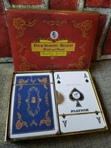 Four Seasons Regent Hotels Resorts Piatnik Wienna Playing Cards Austria Sealed  - $47.84