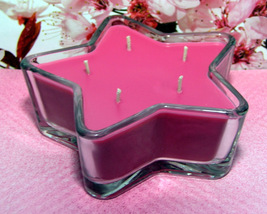 Cherry Blossom PURE SOY Star Container Candle 11 oz. - $9.50