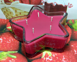 Strawberry Jam PURE SOY Star Container Candle 11 oz. - $9.50