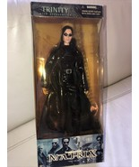 THE MATRIX TRINITY WITH ACCESSORIES 12 INCH ACTION FIGURE - $39.59