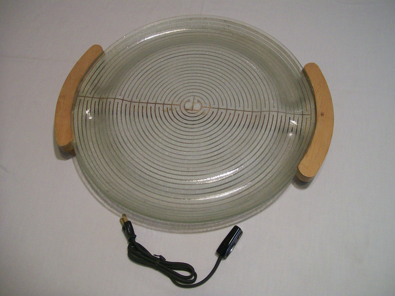 Glass Food Warmers ~ Russel wright electriglas electric glass food warmer tray