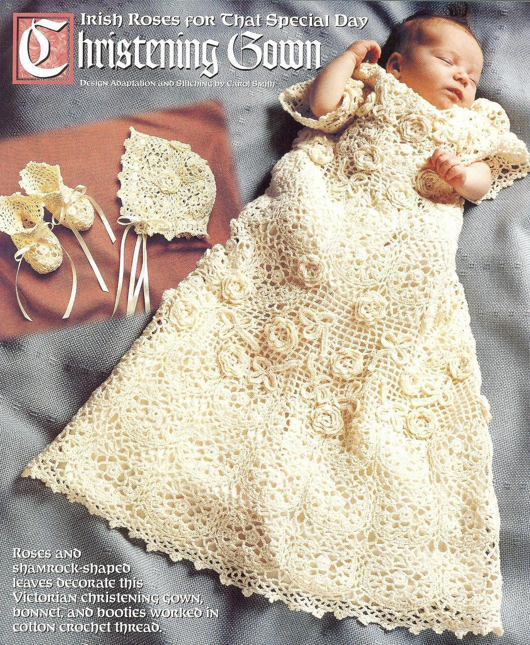 Christening crochet pattern