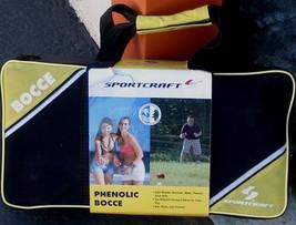 Sportcraft Phenolic Bocce Ball Game  - BRAND NEW IN BOX - BACKYARD or BE... - $34.64