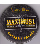 "MAXIMUS1 at CAESARS PALACE 3"" Pinback  Button - $5.95"