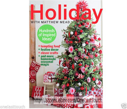 HOLIDAY HUNDREDS OF INSPIRED IDEAS* PaperBack Cover Book By Matthew Mead... - $9.99