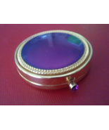 Vintage Gold & Purple Estee Lauder Powder Compact - Rare  - $24.99