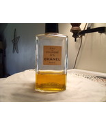 Chanel No. 5 eau de Cologne Paris Vintage Bottle - $100.00