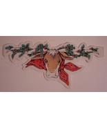 Southwestern Steer Head Festive Holiday Paper Garland - $8.99