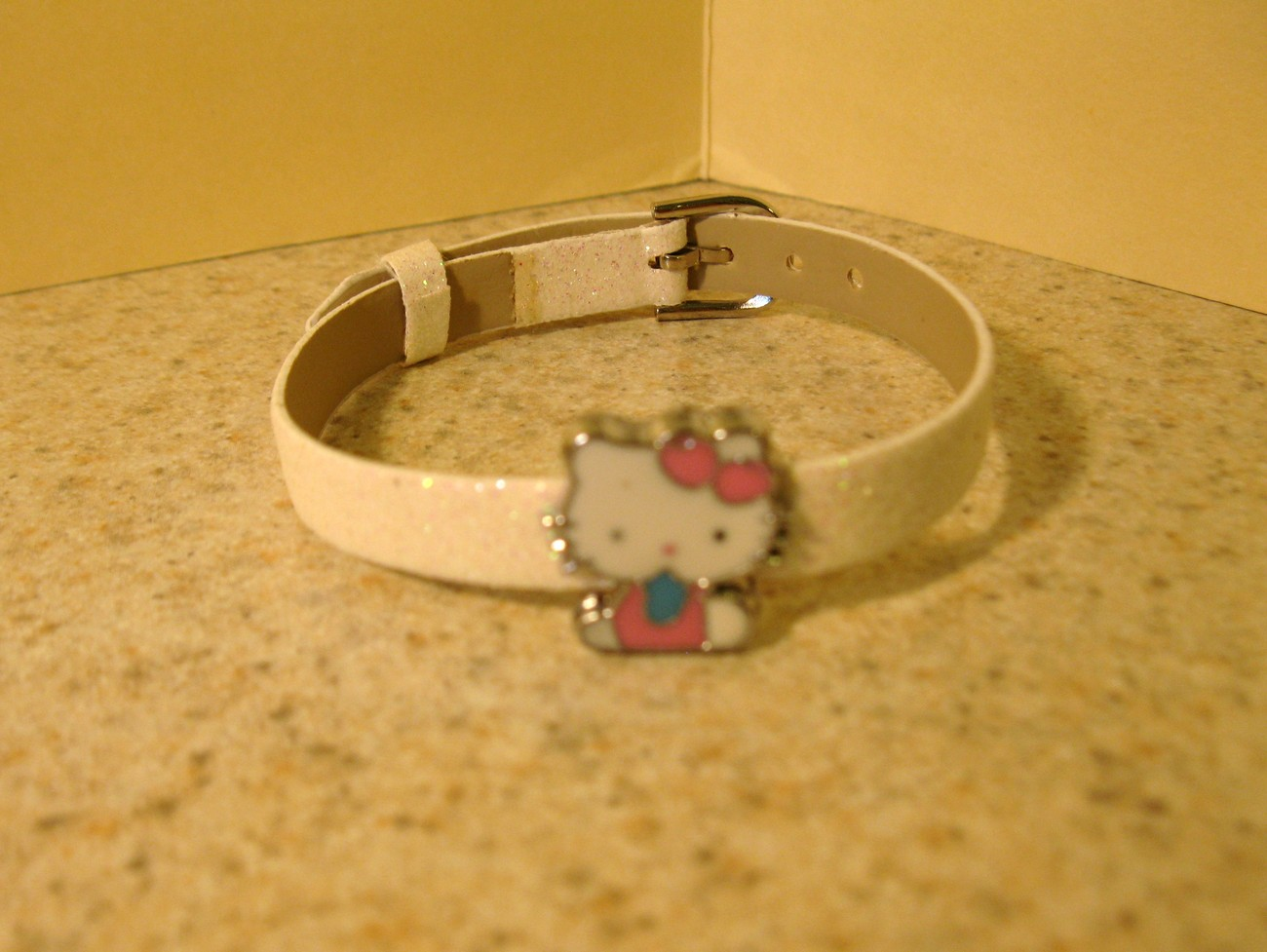 BRACELET CHILDS HELLO KITTY WHITE SPARKLE #21