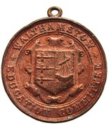 1907 BRITISH WALTHAMSTOW EDUCATION COMMITTEE ATTENDANCE BRONZE MEDAL  - €8,69 EUR