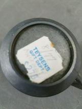 """Vintage 2.75"""" Pewter Pitcher Creamer Teysen's Gift Shop Mackinaw City Michigan image 6"""