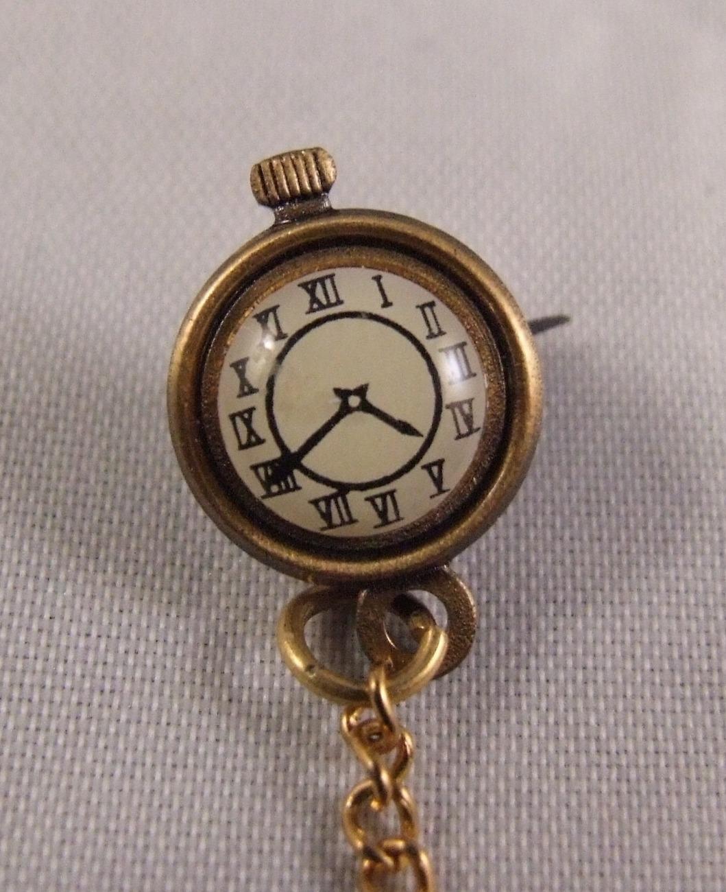 vintage brass novelty pocket 2 lapel pin other