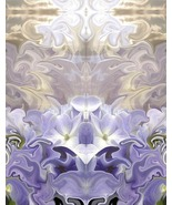Glory, 11x14, Photo Based Digital Art, Hydrangea, Symmetry,  - $30.00